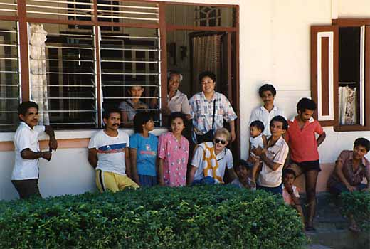 Pesulima family members in Soya